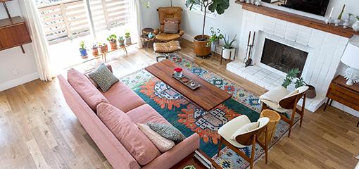 Безворсовые ковры – килимы сейчас на пике популярности