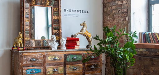 Sansara - коллекция мебели из антикварного дерева