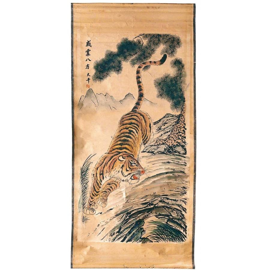 Панно-постер в китайском стиле Gudai I