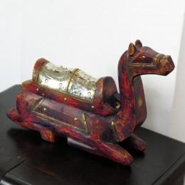 Статуэтка верблюда в индийском стиле Laal Oont, 25 см