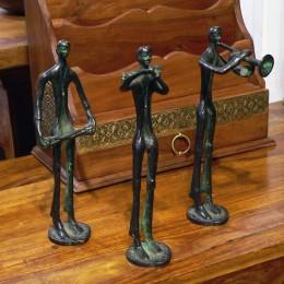 Бронзовая статуэтка музыканта Kala, 25 см (в ассортименте)