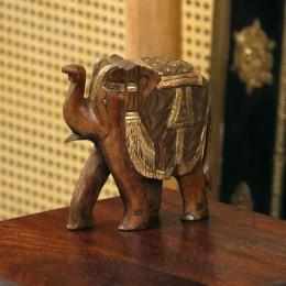Индийская фигурка слоника Bachcha, 10 см