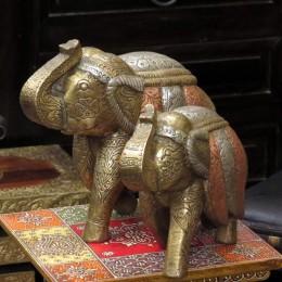 Индийская статуэтка слона Smaart, 38 см