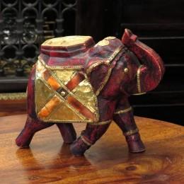 Красная фигурка слона Kada, 20 см