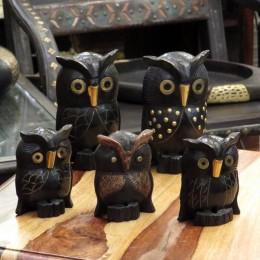Статуэтка совы из Индии, Gyaan, 11 или 16 см
