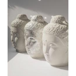 Декор Голова Будды из бетона