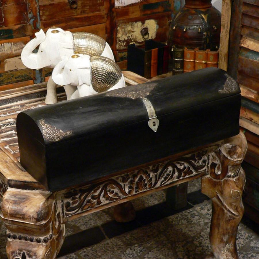 Большая деревянная шкатулка-сундук Dibiya