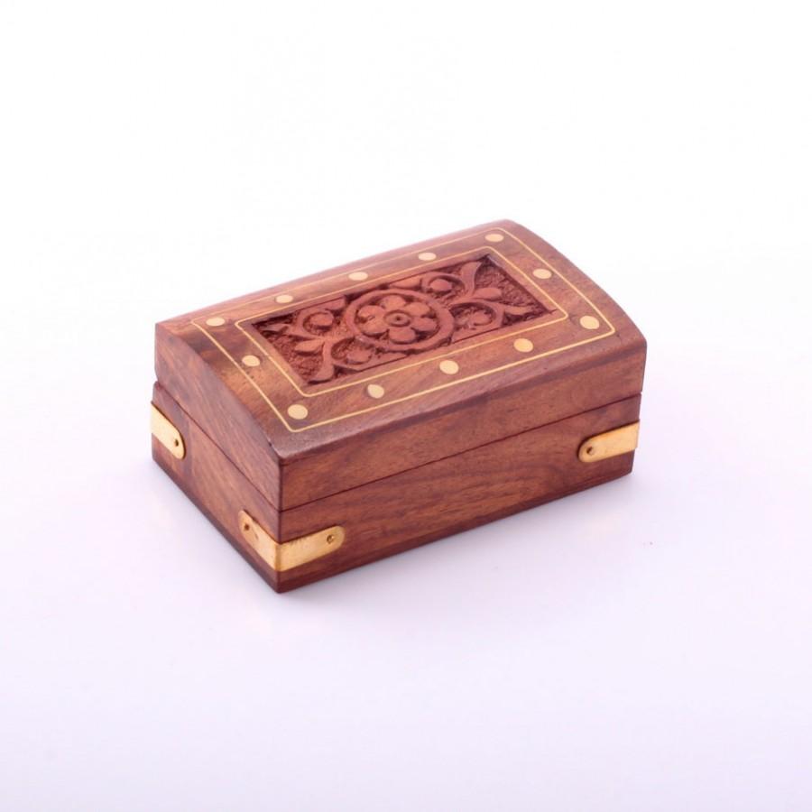 Деревянная шкатулка из Индии Gahana