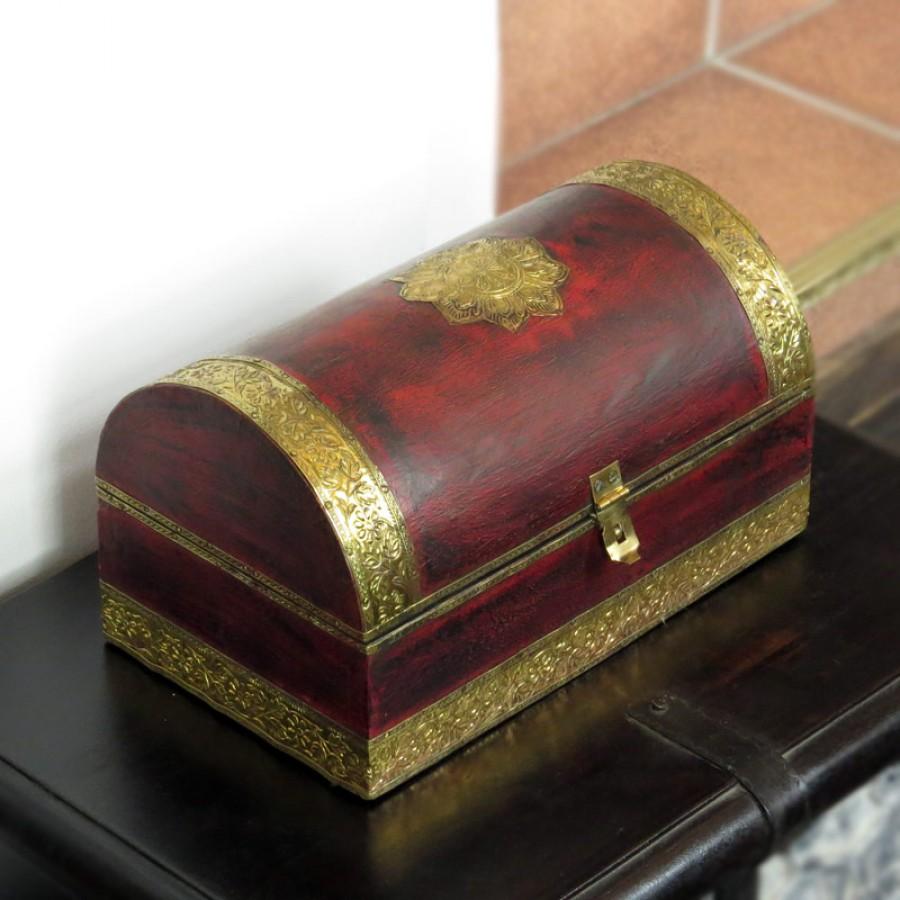 Шкатулка-сундучок для украшений Chhaatee