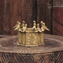 Емкость из бронзы в этно стиле Pakshiyon, 6 см