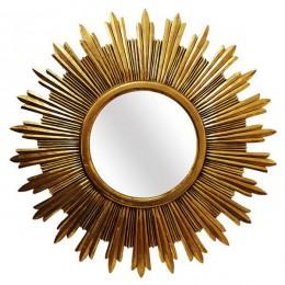 Резное зеркало Golden Sun