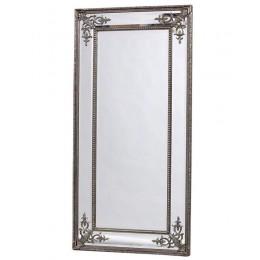 """Большое напольное зеркало """"Венето"""", florentine silver, 200х92 см"""