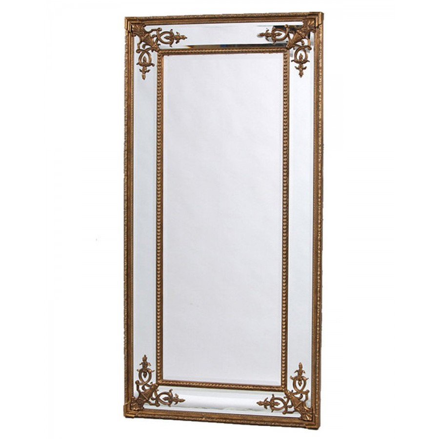"""Большое напольное зеркало """"Венето"""", gold, 200х92 см"""