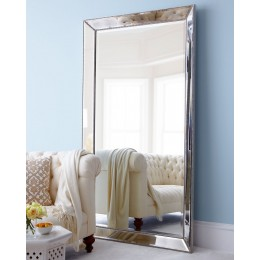 "Большое зеркало в пол ""Уилшир"", pale silver, 197х100 см"