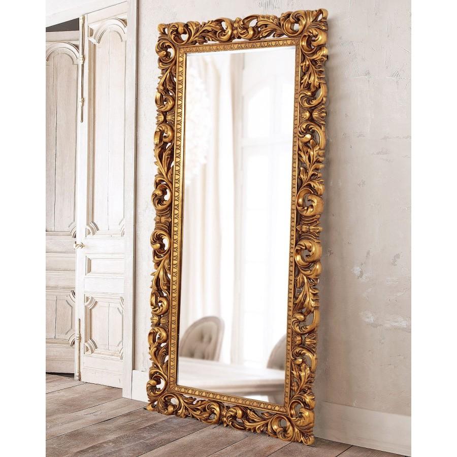 """Напольное зеркало в раме """"Кингстон"""", gold, 188х90 см"""