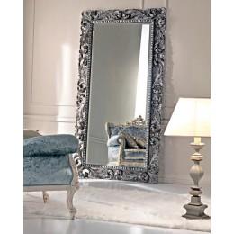"""Напольное зеркало в раме """"Кингстон"""", soho silver, 188х90 см"""