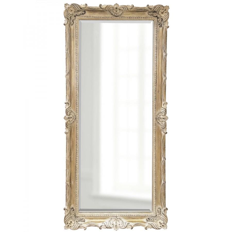 """Зеркало в полный рост в раме """"Флавио"""", artisan ivory, 180х80 см"""