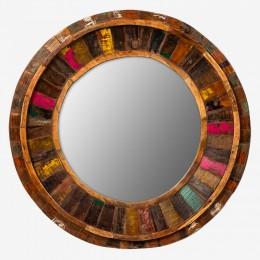 ГАРМИ, зеркало лофт, массив, круглое