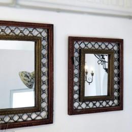 Настенное зеркало в раме Phorjing, 50х61/43х50 см