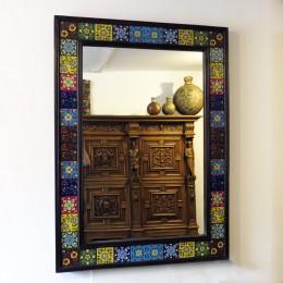 Зеркало на стену в раме Rangeen, 64х80/80х110 см