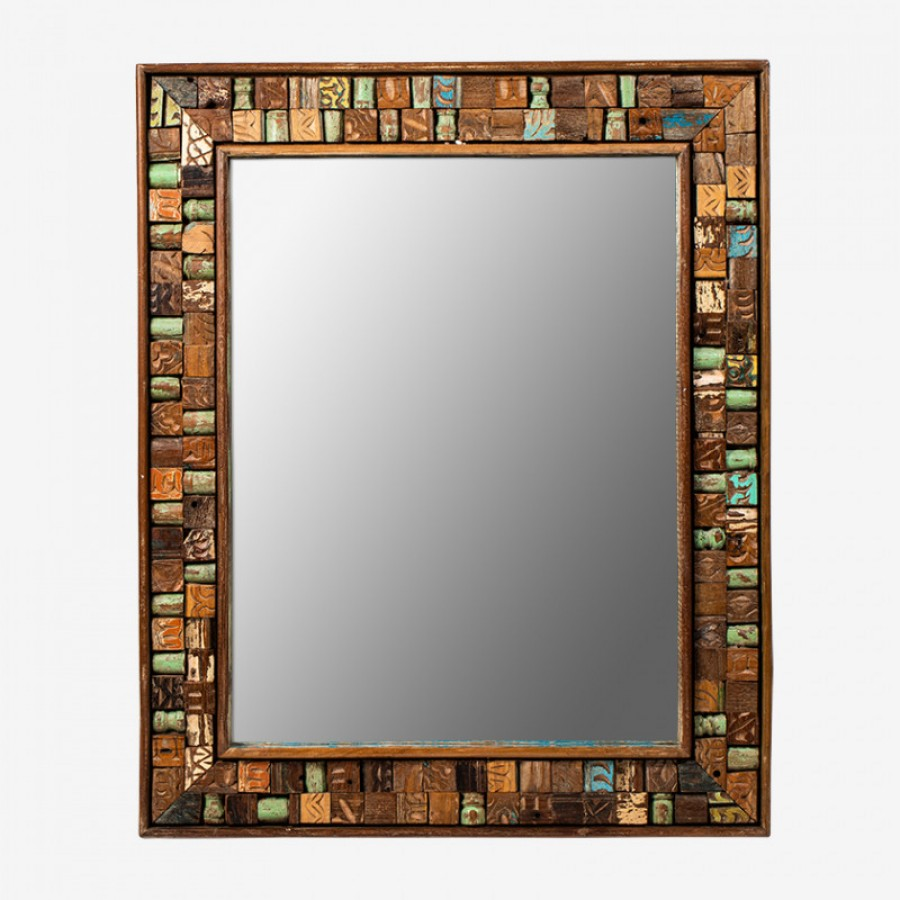 АСАМАНИ, зеркало из антикварного дерева