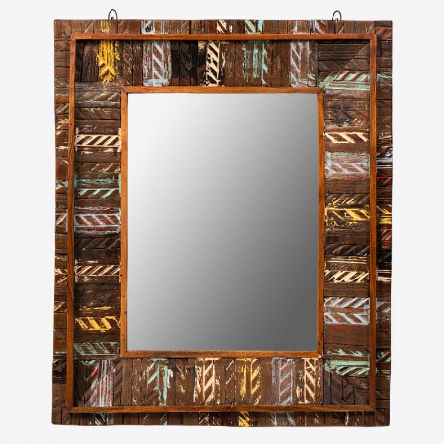 АСАМАНИ, зеркало лофт, массив