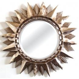 Зеркало Antigua estrella, silver, d-85 cm