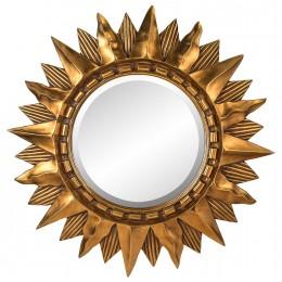 Зеркало Antigua estrella, gold, d-85 cm