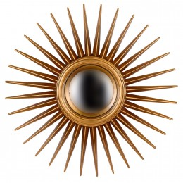 Сферическое зеркало Еstrella, gold, d-76 cm