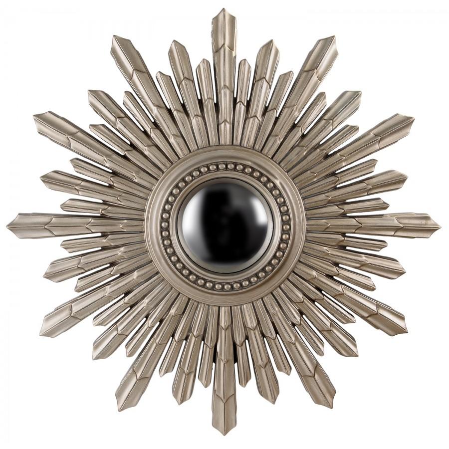 Сферическое зеркало Estrellato, silver, d-103 cm