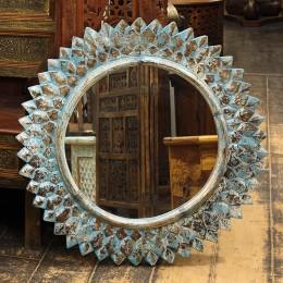 Настенное зеркало-солнце в раме РАШМИ