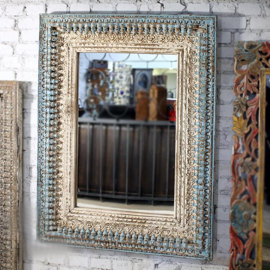 СУНДЕР, индийское зеркало из массива