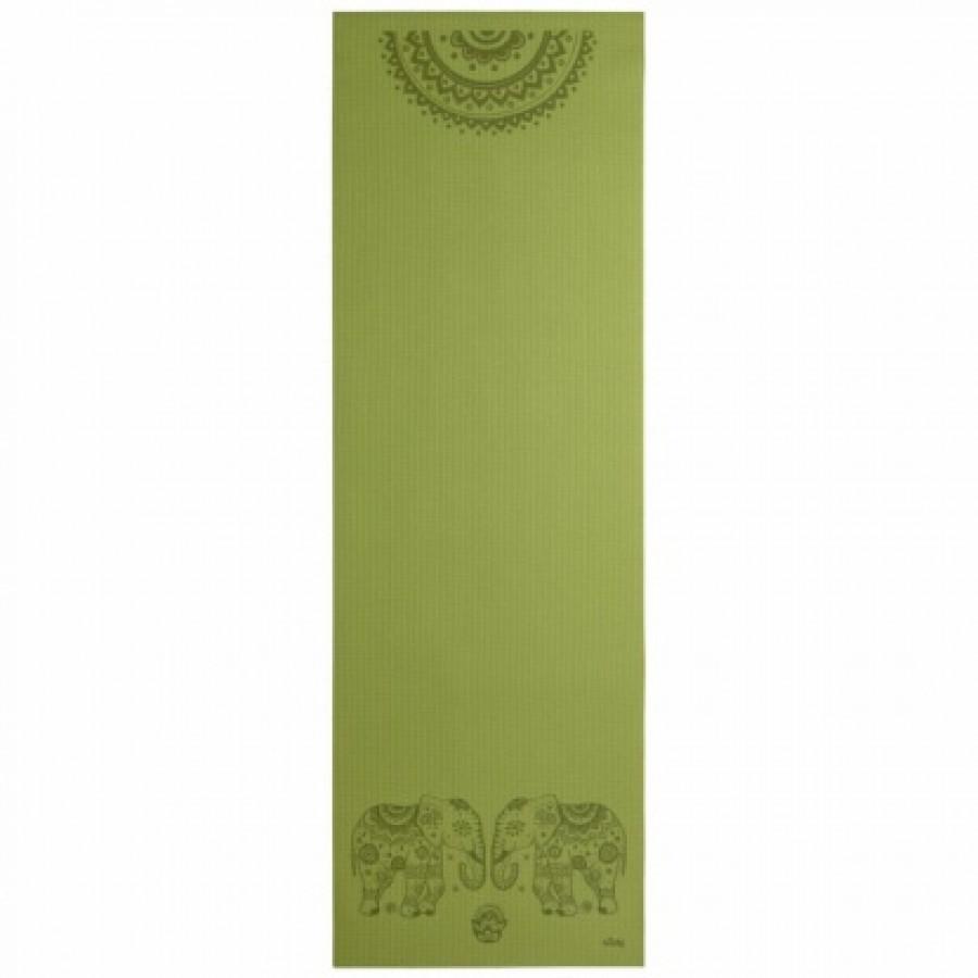 Коврик для йоги «Лила» от Bodhi (Слоны и мандала)