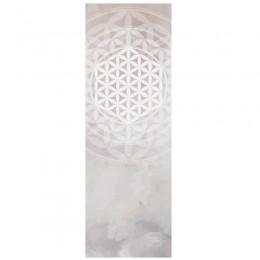 Дизайнерский коврик для йоги FLOWER OF LIFE