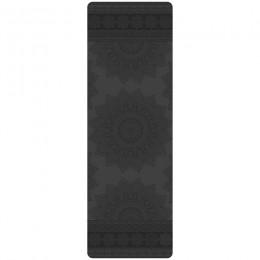 Профессиональный коврик для йоги MANDALA BLACK