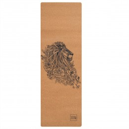 Каучуковый коврик для йоги LEO