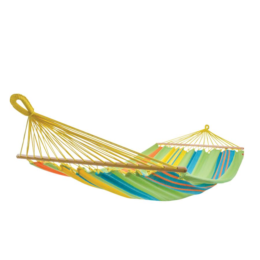 Подвесной двухместный гамак из хлопка Tropic
