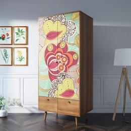 Дизайнерский шкаф двухстворчатый Amado