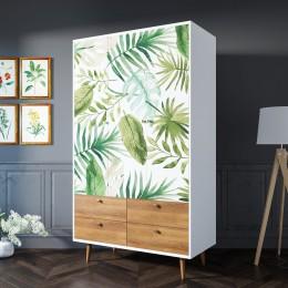Дизайнерский трехстворчатый шкаф Amado