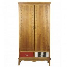 Оригинальный шкаф из массива березы Gouache Birch