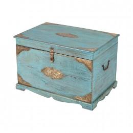 Голубой сундук для хранения Neela, два размера