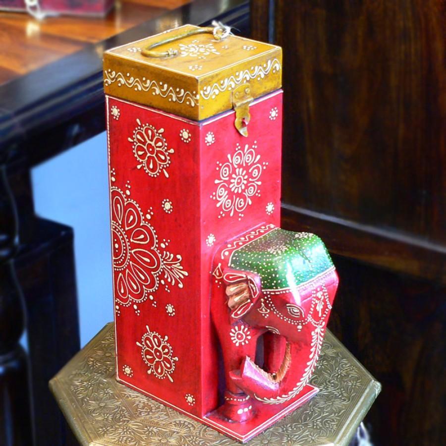 Оригинальная коробка для вина. Индия