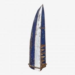Винный стеллаж из балийской лодки МОЙО