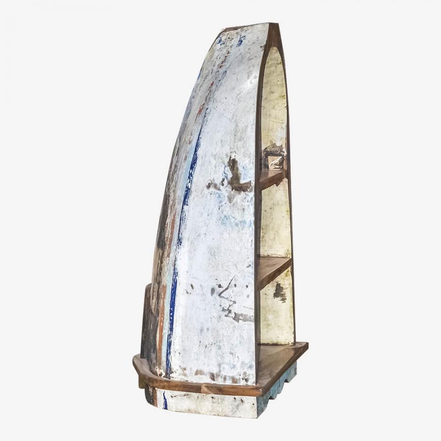 Стеллаж в виде лодки Нуса-Дуа, малый