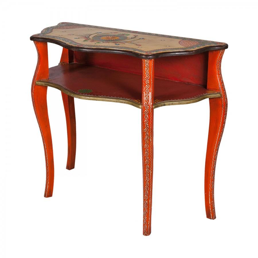Индийский консольный столик Chitrakaar, 78 см