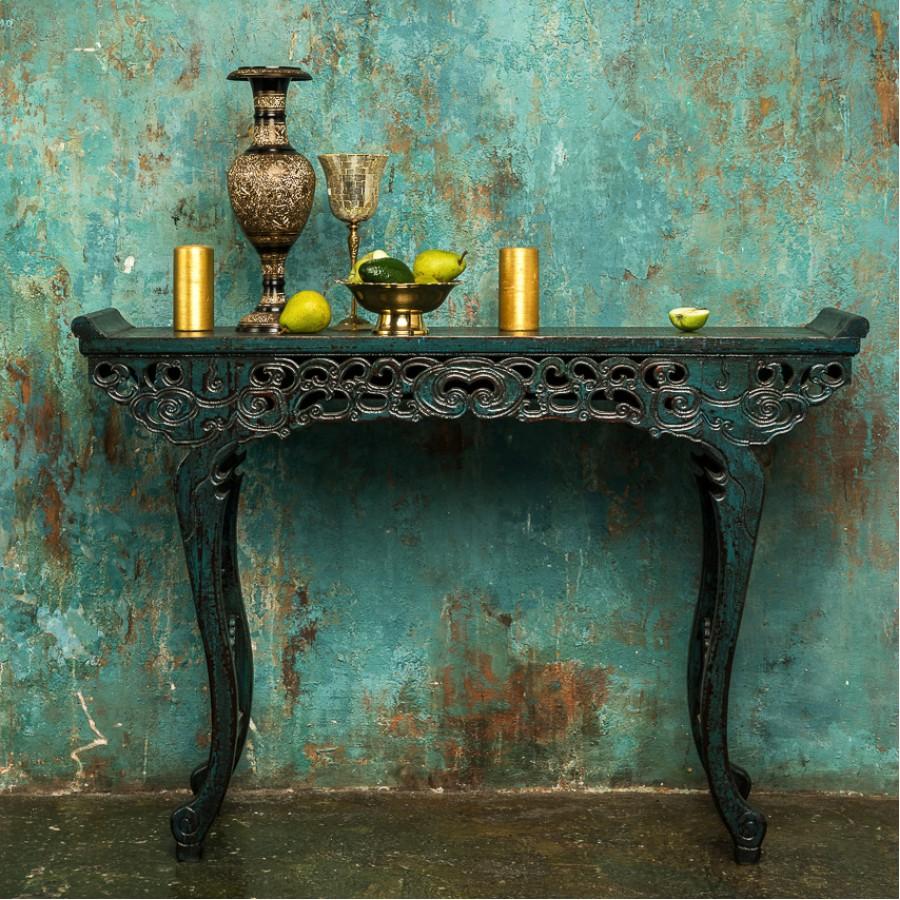 Консольный стол в китайском стиле Loukong, 86 см