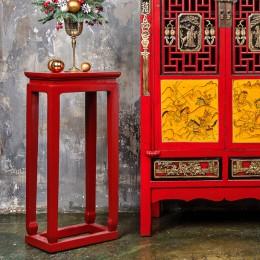 Красная подставка в китайском стиле Jiandan, 87 см