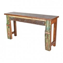 Оригинальный консольный столик из Индии Provens, 80 см