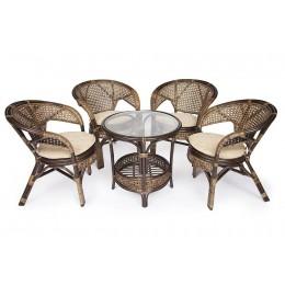 АНАПОЛИС, садовый комплект мебели из натурального ротанга