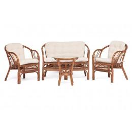 БОЛИВАР, комплект плетеной мебели из ротанга